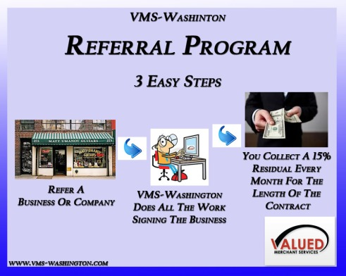 VMS-Washington - Referral Programs 3 Easy Steps