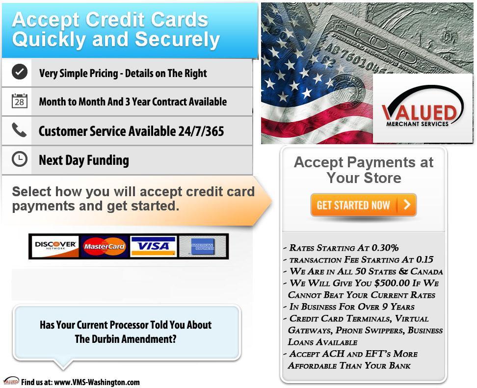 Vms Credit Card Processing >> Credit Card Processing Vms Washington